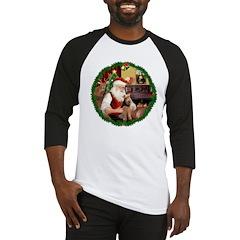 Santa's Welsh T Baseball Jersey