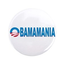 "Obamamania 3.5"" Button"