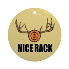 Nice Rack Ornament (Round)