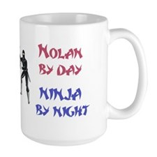 Nolan - Ninja by Night Mug