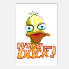 What the Duck! Postcards (Package of 8)