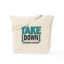 Take Down Ovarian Cancer 1 Tote Bag