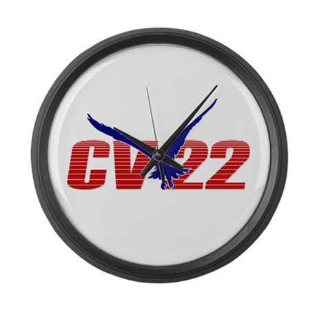 'CV-22' Large Wall Clock