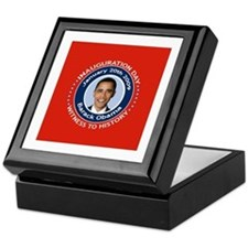 Obama Inauguration Day Keepsake Box