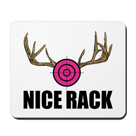 Nice Rack Mousepad By Tgdesigns
