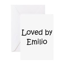 Cute Emilio Greeting Card