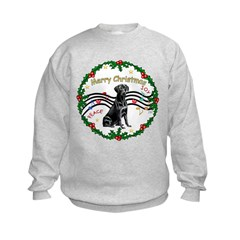XmasMusic2/Lab (black) Sweatshirt