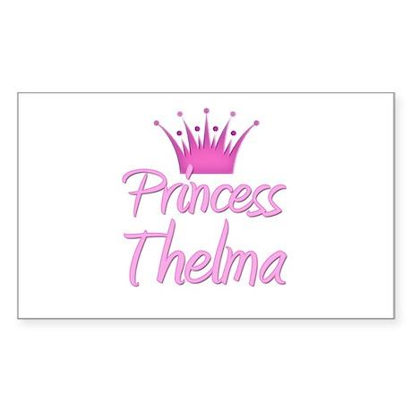 Princess Thelma Rectangle Sticker
