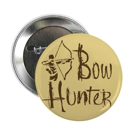 "Bow Hunter 2.25"" Button"