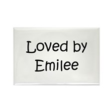 Cute Emilee Rectangle Magnet
