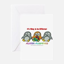 Penguin Brothers Greeting Card