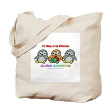 Penguin Brothers Tote Bag