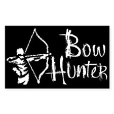 Bow Hunter Rectangle Decal
