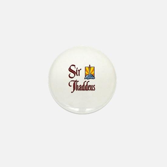 Sir Thaddeus Mini Button