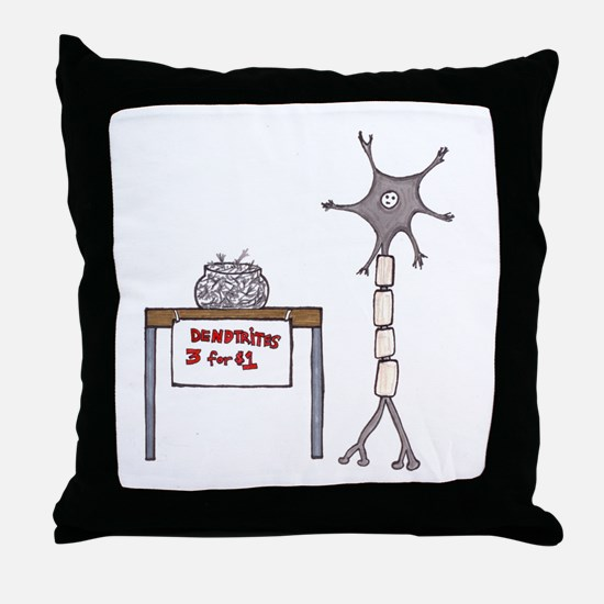 Dendrites For Sale Throw Pillow