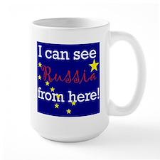 Politics - I can see Russia f Mug