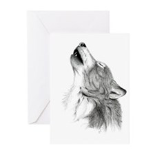 Howl Greeting Cards (Pk of 20)