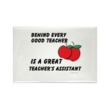 Great Teacher's Assistant Rectangle Magnet
