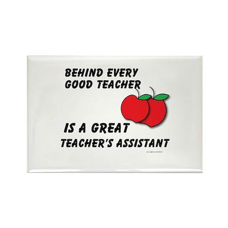 Great Teacher's Assistant Rectangle Magnet