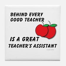 Great Teacher's Assistant Tile Coaster