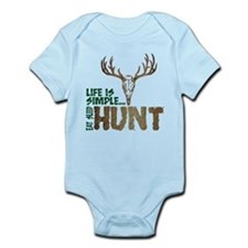 Eat Sleep Hunt Infant Bodysuit