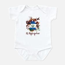 Butterfly El Salvador Infant Bodysuit