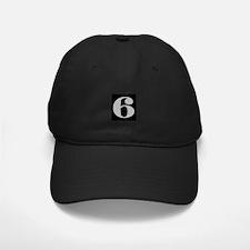 Silver 6ix Baseball Hat