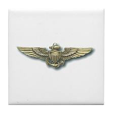 'Naval Aviator Wings' Tile Coaster