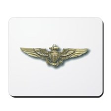 'Naval Aviator Wings' Mousepad