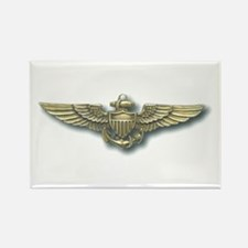 'Naval Aviator Wings' Rectangle Magnet