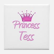 Princess Tess Tile Coaster