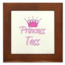 Princess Tess Framed Tile