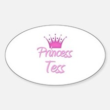 Princess Tess Oval Decal