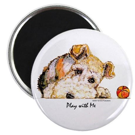 """Wire Fox Terrier 2.25"""" Magnet (10 pack)"""