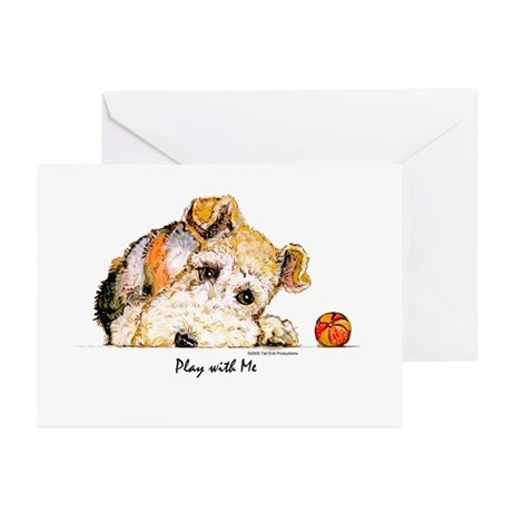 Wire Fox Terrier Greeting Cards (Pk of 10)