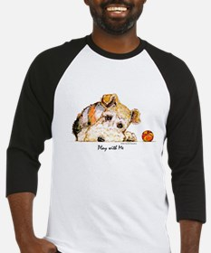 Wire Fox Terrier Baseball Jersey