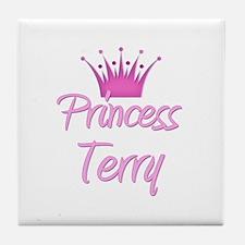 Princess Terry Tile Coaster