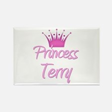 Princess Terry Rectangle Magnet