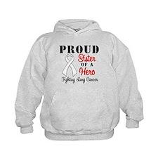 ProudSisterLungCancer Hero Hoody