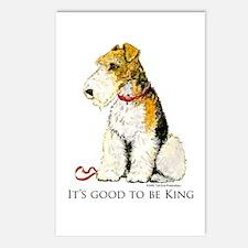 Fox Terrier Postcards (Package of 8)