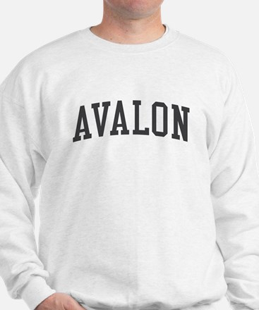 Avalon New Jersey NJ Black Sweatshirt