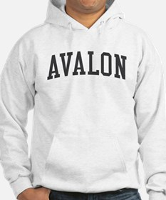 Avalon New Jersey NJ Black Hoodie