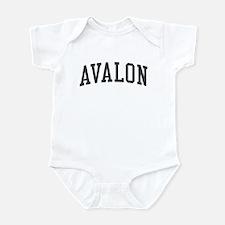 Avalon New Jersey NJ Black Infant Bodysuit