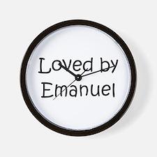 Cute Emanuel Wall Clock