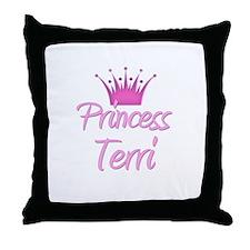 Princess Terri Throw Pillow
