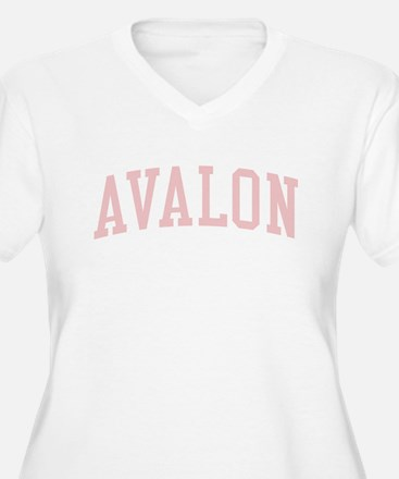 Avalon New Jersey NJ Pink T-Shirt