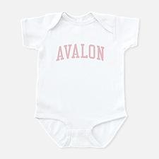 Avalon New Jersey NJ Pink Onesie