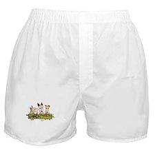Fox Terrier Trio Boxer Shorts