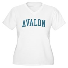 Avalon New Jersey NJ Blue T-Shirt