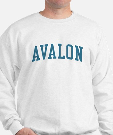 Avalon New Jersey NJ Blue Sweatshirt